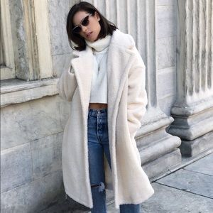 Jackets & Blazers - 🆕Lorna Cream Teddy Coat